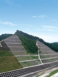 Toko Geotech Co.,Ltd. Greening construction for slope face